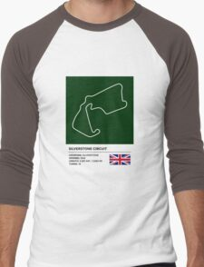 Silverstone Circuit - v2 Men's Baseball ¾ T-Shirt