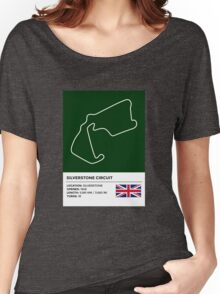 Silverstone Circuit - v2 Women's Relaxed Fit T-Shirt