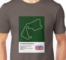 Silverstone Circuit - v2 Unisex T-Shirt