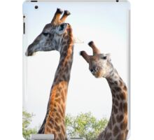 Walking with Giraffes - South Africa iPad Case/Skin