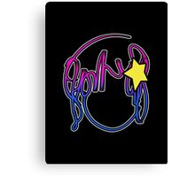 Ramona Stars Canvas Print