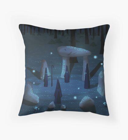 The Place Where the Warlocks Meet Throw Pillow