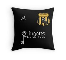 Hufflepuff Quidditch Club Home Kit Throw Pillow