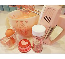 """The Makings Of A Cupcake"" Photographic Print"