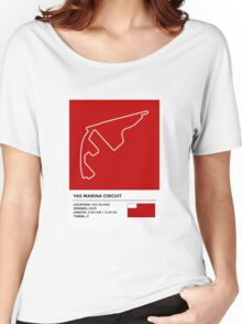 Yas Marina Circuit - v2 Women's Relaxed Fit T-Shirt