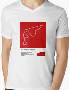 Yas Marina Circuit - v2 Mens V-Neck T-Shirt