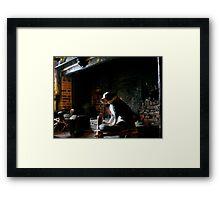 The Pub Dog Framed Print