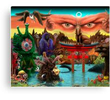 Religion Theory Canvas Print