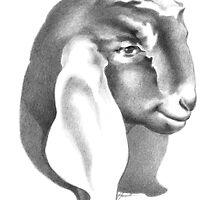 Nubian Doe Kid 2 by Patricia Howitt
