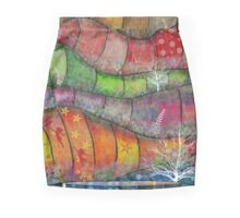 Through Rose Coloured Glasses Mini Skirt