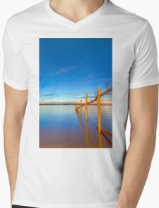 Into the Deep - Raby Bay Qld Australia Mens V-Neck T-Shirt