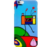 My Homage To Miro iPhone Case/Skin