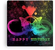 Happy Birthday -  Art + Products Design  Metal Print