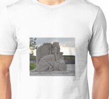Princess sand sculpture Unisex T-Shirt
