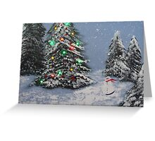 """Christmas time"" Greeting Card"