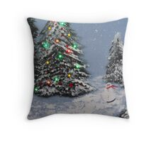 """Christmas time"" Throw Pillow"