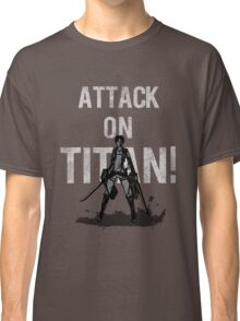 Attack On Titan Eren Jaeger Classic T-Shirt