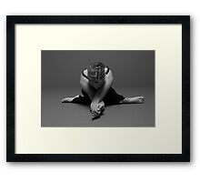 The Organization of Sound and Silence Framed Print