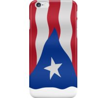 Puerto Rican flag iPhone Case/Skin