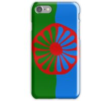 Roma flag iPhone Case/Skin