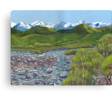 Mountain Creek ~ Western Landscape ~ Oil Painting Canvas Print