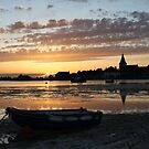 Sunset, Bosham Harbour, West Sussex by Jane Burridge