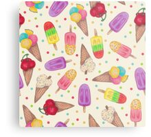 I scream for Icecream! Reprise Metal Print
