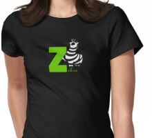 z for zebra Womens Fitted T-Shirt