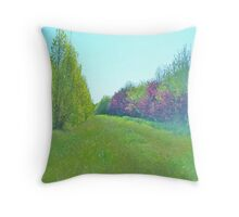 Gentle Orchard Throw Pillow