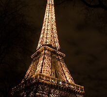 Eiffel Tower by Christophe Faugere