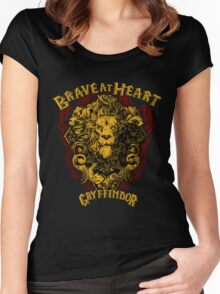 Brave at Heart Women's Fitted Scoop T-Shirt