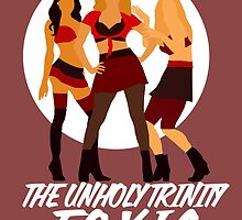 The unholy trinity minimalistic - toxic version 2 ; by dolphinvera