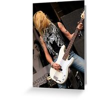 Guns 2 Roses Greeting Card