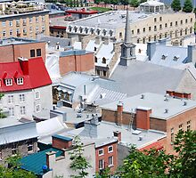 Place-Royale Old Quebec by John Schneider