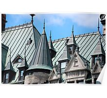 Frontenac Roofscape Poster