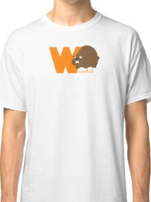 w for wombat Classic T-Shirt