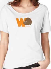 w for wombat Women's Relaxed Fit T-Shirt