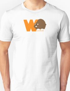 w for wombat Unisex T-Shirt