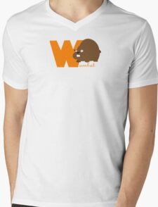w for wombat Mens V-Neck T-Shirt