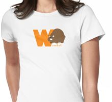w for wombat Womens Fitted T-Shirt