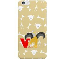 v for vulture iPhone Case/Skin