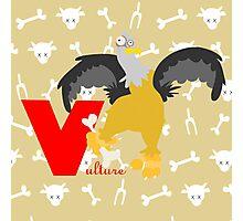 v for vulture Photographic Print