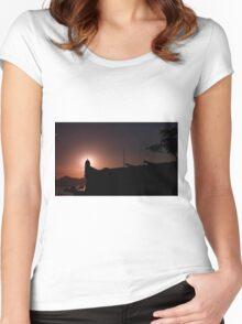 Forte de São João da Bertioga - Brazil Women's Fitted Scoop T-Shirt
