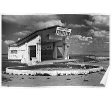 Abandoned Funfair Poster