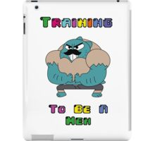 Training To Be A Men  iPad Case/Skin