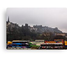 Pick  A Tour Bus? Canvas Print