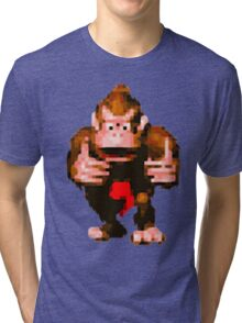 Donkey Kong Country - Thumbs Up Tri-blend T-Shirt