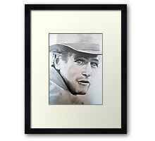 Butch Cassidy- Paul Newman Framed Print