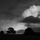 Storm Clouds, Hampshire, UK by Jane Burridge