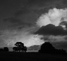 Storm Clouds, Hampshire, UK by Jane Burridge